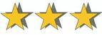 Bewertung Mitglieder 3 stars