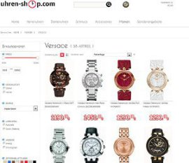 screenshot uhren-shop.com