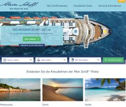 Kreuzfahrten Test TUI cruises screen