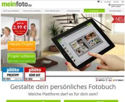 Fotobuch-Anbieter meinfoto.de
