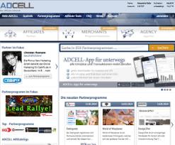 Adcell screenshot