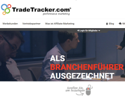 TradeTracker screen