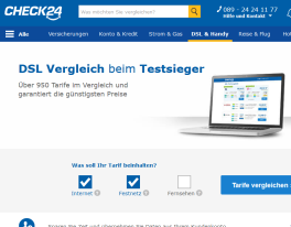 Check24.de-screen