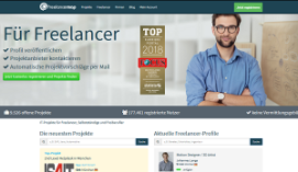 Jobportal IT Freiberufler freelancermap